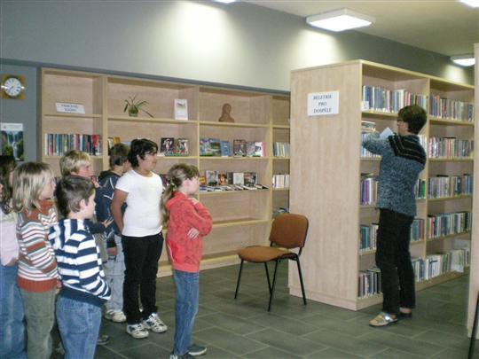 Seznmen s knihovnou: Fotogalerie: Jemnice